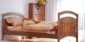 """Ліжко дитяче """"Аріна"""" - меблі з дерева в дитячу та спальню від фабрики Venger"""