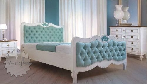 """Ліжко двоспальне """"Елен"""" - меблі з дерева в дитячу та спальню від фабрики Venger"""