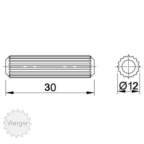 Шканти 12 * 30 - меблі з дерева в дитячу та спальню від фабрики Venger