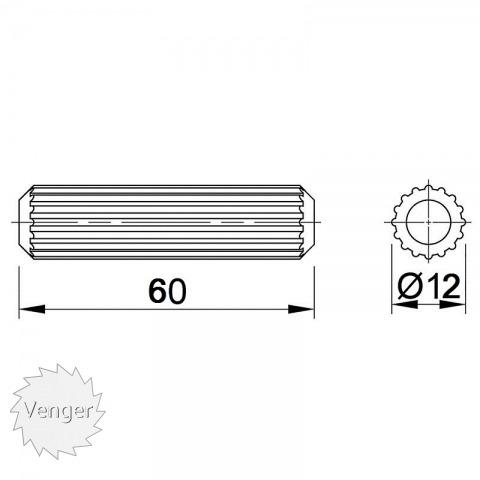 Шканти 12 * 60 - меблі з дерева в дитячу та спальню від фабрики Venger