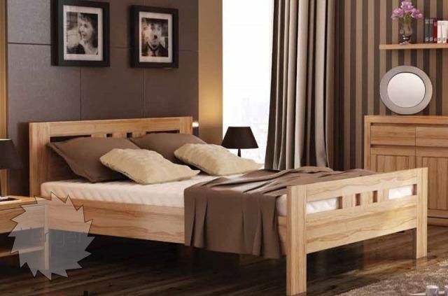 """Ліжко двоспальне""""Соната"""" - меблі з дерева в дитячу та спальню від фабрики Venger"""