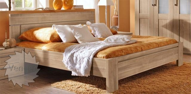 """Ліжко двоспальне """"Анна"""" - меблі з дерева в дитячу та спальню від фабрики Venger"""