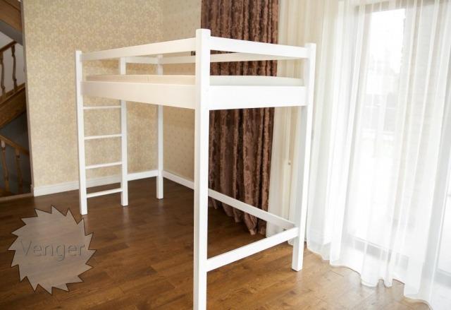 """Ліжко горище """"Даніель"""" - меблі з дерева в дитячу та спальню від фабрики Venger"""