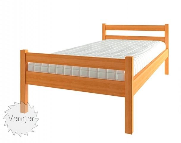 """Ліжко дитяче """"Еко 3"""" - меблі з дерева в дитячу та спальню від фабрики Venger"""
