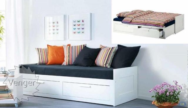 """Ліжко трансформер """"Кай"""" - меблі з дерева в дитячу та спальню від фабрики Venger"""