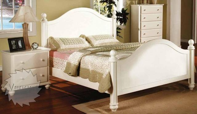 """Ліжко двоспальне """"Севілья"""" - меблі з дерева в дитячу та спальню від фабрики Venger"""