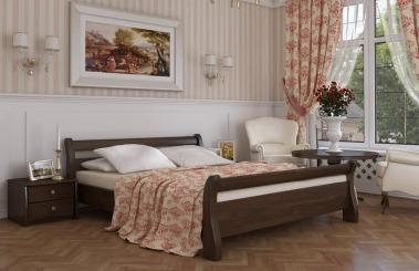 """Ліжко двоспальне """"Діана"""" - меблі з дерева в дитячу та спальню від фабрики Venger"""