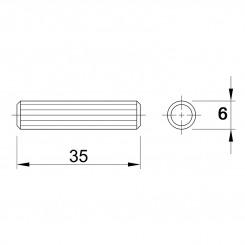 Шканти 6 * 35 - меблі з дерева в дитячу та спальню від фабрики Venger