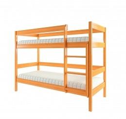 """Ліжко двоярусне """"Еко 1"""" - меблі з дерева в дитячу та спальню від фабрики Venger"""