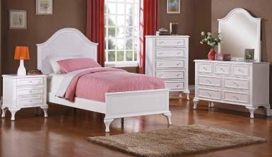 """Ліжко односпальне """"Емілія"""" - меблі з дерева в дитячу та спальню від фабрики Venger"""