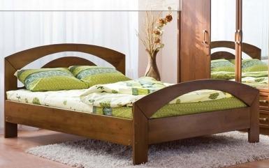 Ліжко двоспальне «Лідія» - меблі з дерева в дитячу та спальню від фабрики Venger