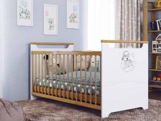 """Ліжечко трансформер """"Ведмежатко""""  - меблі з дерева в дитячу та спальню від фабрики Venger"""
