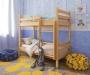 """Ліжко двоярусне для дитячого садка """"Твікс"""" - меблі з дерева в дитячу та спальню від фабрики Venger"""