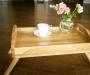 Столик піднос розкладний (дуб) - меблі з дерева в дитячу та спальню від фабрики Venger